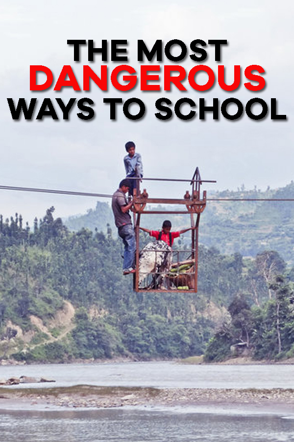 The Most Dangerous Ways To School